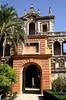 Privilege Gate Real Alcazar Gardens Seville