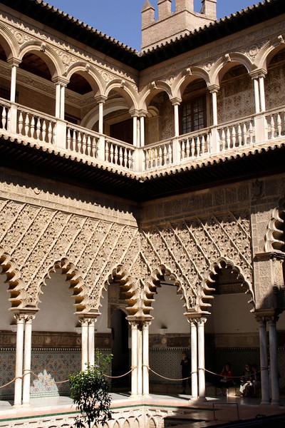 Patio de las Doncellas Real Alcazar Seville