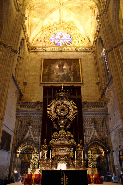 Alter in Seville Cathedral