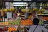 Stall at the Mercado de la Encarnacion Fruit Market Seville October 2007