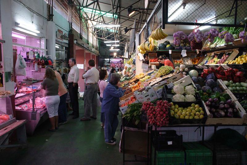 Mercado de la Encarnacion Fruit Market Seville October 2007