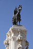 Monument of Fernando III Conquistador Plaza Nueva Seville