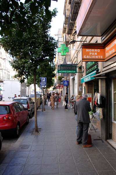 San Jancinto street in the Triana quarter Seville