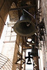 Bells in the La Giralda bell tower of Seville cathedral