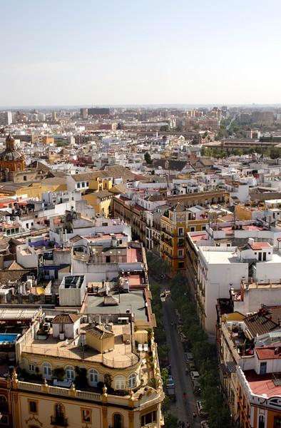 Seville skyline October 2007
