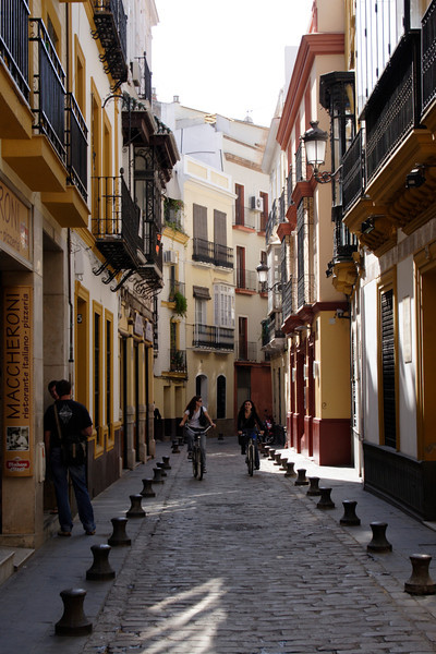 Alley in the El Arenal district Seville