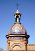 Closeup detail Capillita del Carmen chapel Seville
