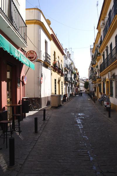 Calle Rodrigo de Triana Seville October 2007