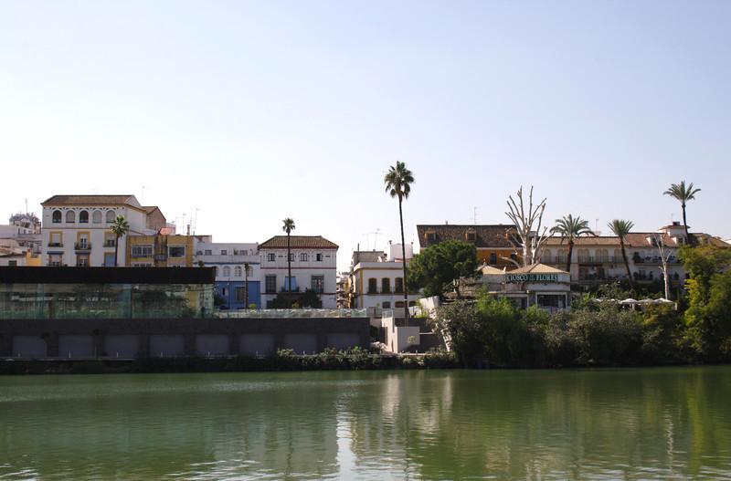 View across Rio Guadalquiver Seville