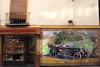 Azulejo billboard showing Studebaker motor car Calle Tetuan Seville