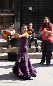 Flamenco dance Seville October 2007