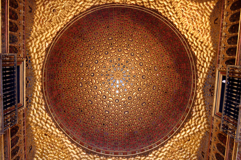 Dome of the Ambassadors Hall Real Alcazar Seville