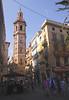 Santa Catalina church tower Valencia Spain