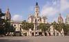 Town Hall Plaza del Ayuntamiento Valencia Spain