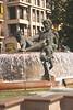 Rio Turia Fountain Plaza de la Virgen Valencia Spain