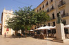 Plaça de l´Arquebisbe and Palau del Marqués de Campo Valencia Spain
