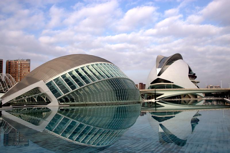 Hemisferic at City of Arts and Sciences Valencia Spain