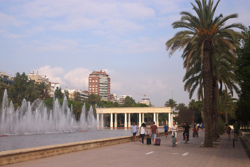 Jardines del Turia Valencia Spain
