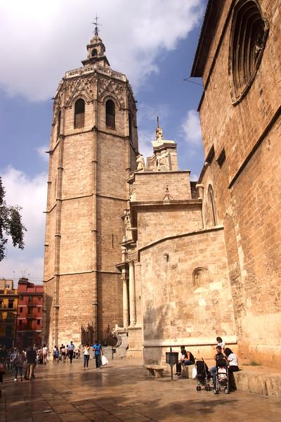 Cathedral Plaza de la Reina Valencia Spain