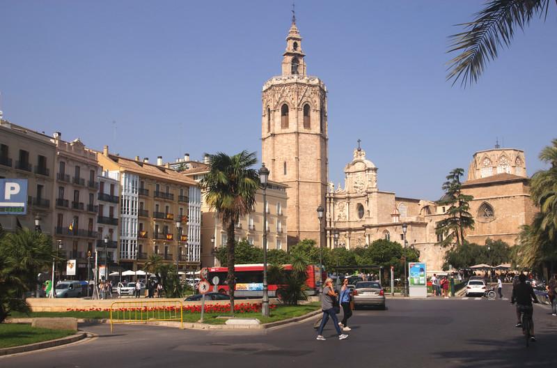 Plaza de la Reina Valencia Spain