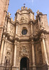 Baroque entrance to Cathedral Valencia Spain