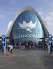 Oceanografic aquarium Valencia Spain