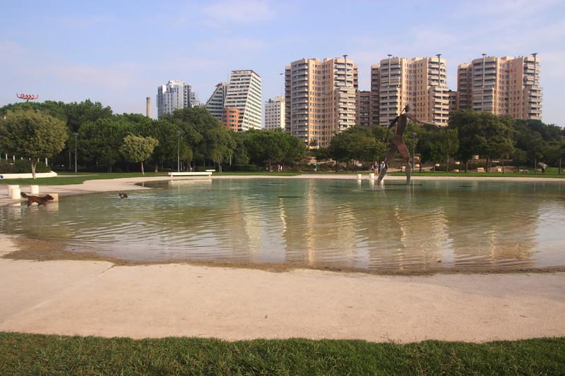 Apartments overlooking Jardines del Turia Valencia Spain