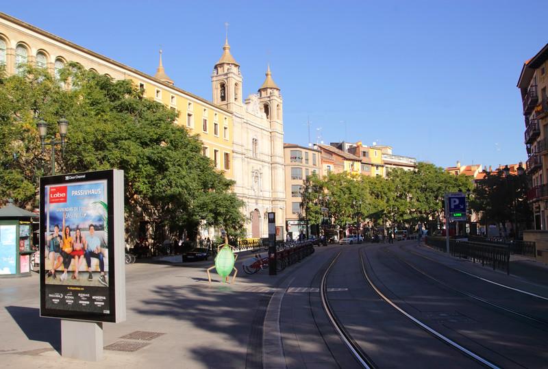 Avenida de Cesar Augusto Zaragoza Spain