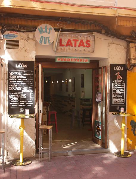 Mas Que Latas Restaurant Calle Santa Cruz Zaragoza Spain