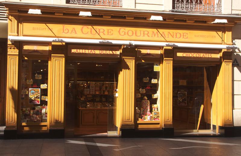 La Cure Gourmande confectionary store in Calle de Alfonso I Zaragoza Spain
