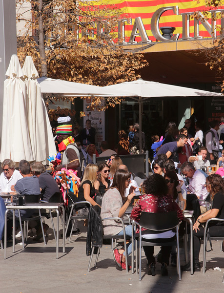 Restaurant by  Business Center Puerta Cinegia Zaragoza Spain