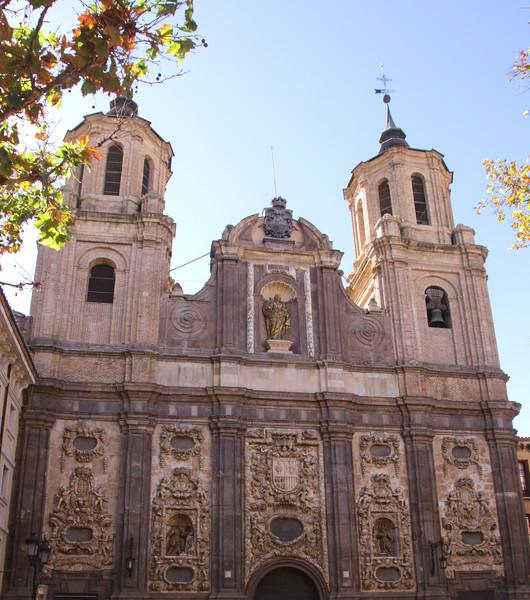 Church of Santa Isabel de Portugal Zaragoza Spain