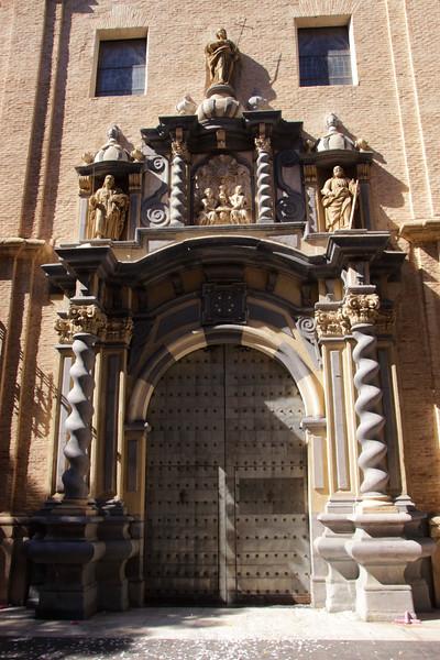 Parroquial de San Felipe y Santiago el Menor Church Zaragoza Spain