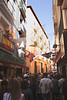 Calle de la Libertad alley in old city centre Zaragoza Spain