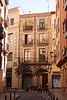 Alley near Calle Pedro Atares Zaragoza Spain
