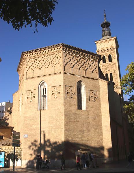 Iglesia de San Miguel de los Navarr church Zaragoza Spain