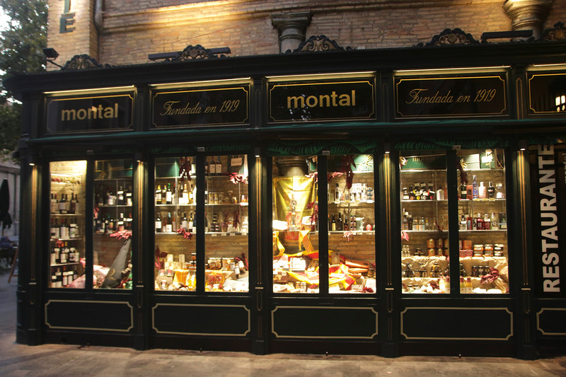 Montal Alimentación Restaurant Plaza San Felipe Zaragoza Spain