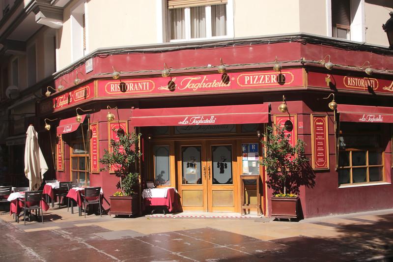 La Tagliatella Restaurant Zaragoza Spain