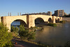 Puente de Piedra Stone Bridge across Ebro River Zaragoza Spain