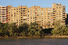 Residential apartments overlooking Ebro River Zaragoza Spain