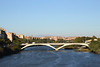 Puente de Santiago bridge over Ebro River Zaragoza Spain
