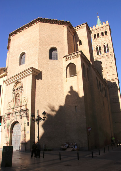 Iglesia Parroquial de San Gil Abad church Zaragoza Spain