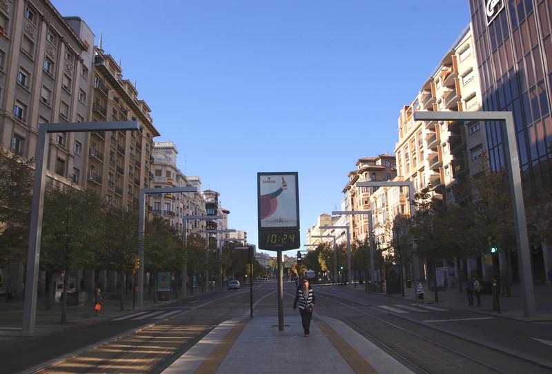Paseo de la Independencia Zaragoza Spain