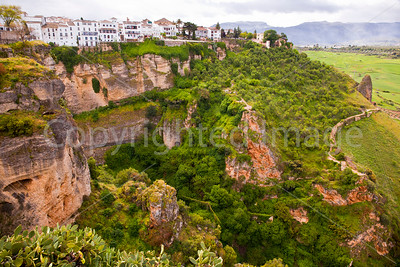 "Ronda a ""white town"" in Andalusia"