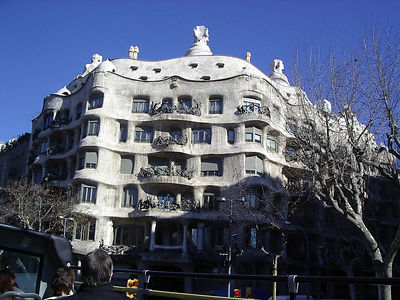 Another famous Gaudi designed building.