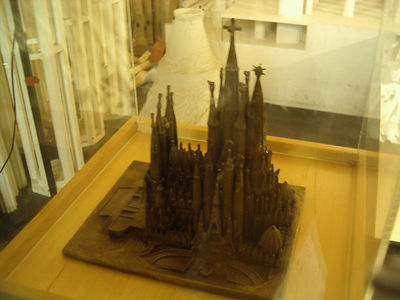 Model of the finished Cathedral.