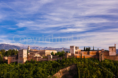 The Alhambra and the Sierra Nevada