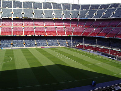 Soccer Stadium with 120,000 seating capacity.
