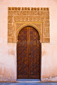 Door in the Nasrid palace