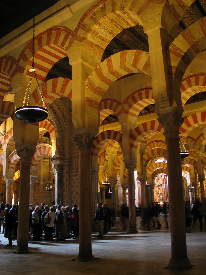 Mezquita, Cordoba, Spain, December 2002 to January 2003